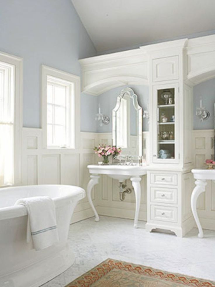 2734 best Shabby chic bathrooms images on Pinterest