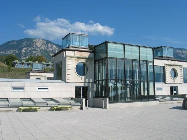 Nowe Termy Narodowe Chevalley, Aix-les-Bains Savoie, 2000, proj. Stanisław Fiszer