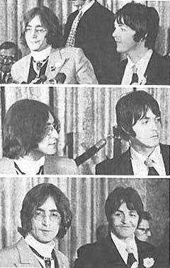 John Lennon & Paul McCartney: Apple Press Conference 5/14/1968 ...