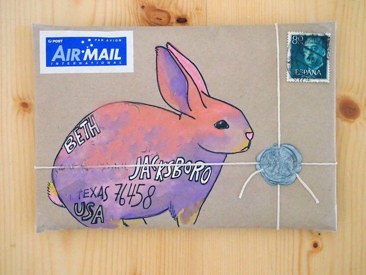 Dear friend, email vs snail mail (+ mail art) | naomi loves