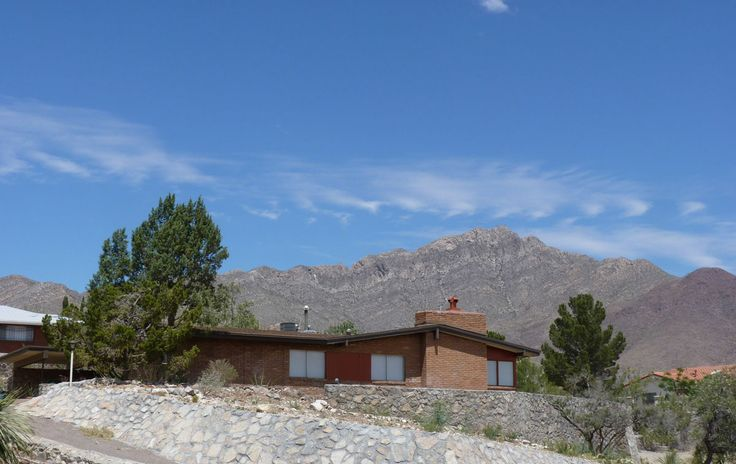 17 best images about after mid century modern ranch el for Modern homes el paso