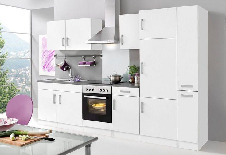 HELD MÖBEL Küchenzeile mit E-Geräten »Toronto, Breite 300 cm«