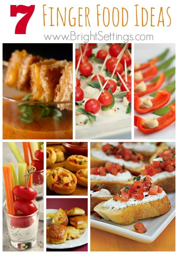Finger Foods Are A Staple Of Party Appetizerseasy To Serve And Easy To Eat These Snacks Can