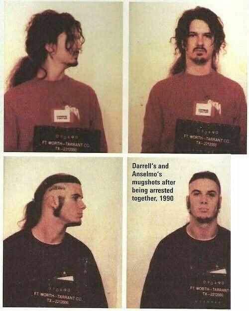 Dimebag and Phil 1990 . . . . #dimebagdarrell #dimebag #philanselmo #pantera…