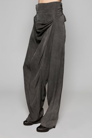 DAMIR DOMA / TIE DROP CROTCH TROUSERS