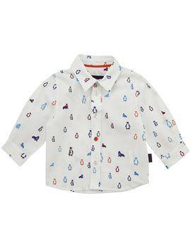 PAUL SMITH JUNIOR Baby Boy Cotton Penguin Shirt