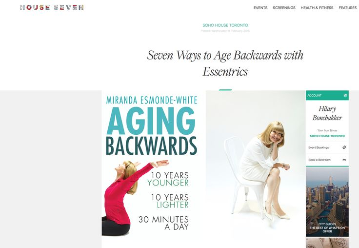 AGING BACKWARDS -
