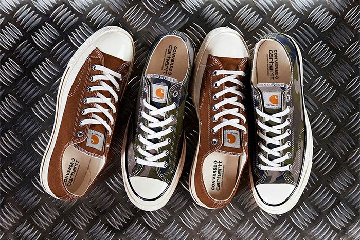 Carhartt WIP and Converse Join Forces