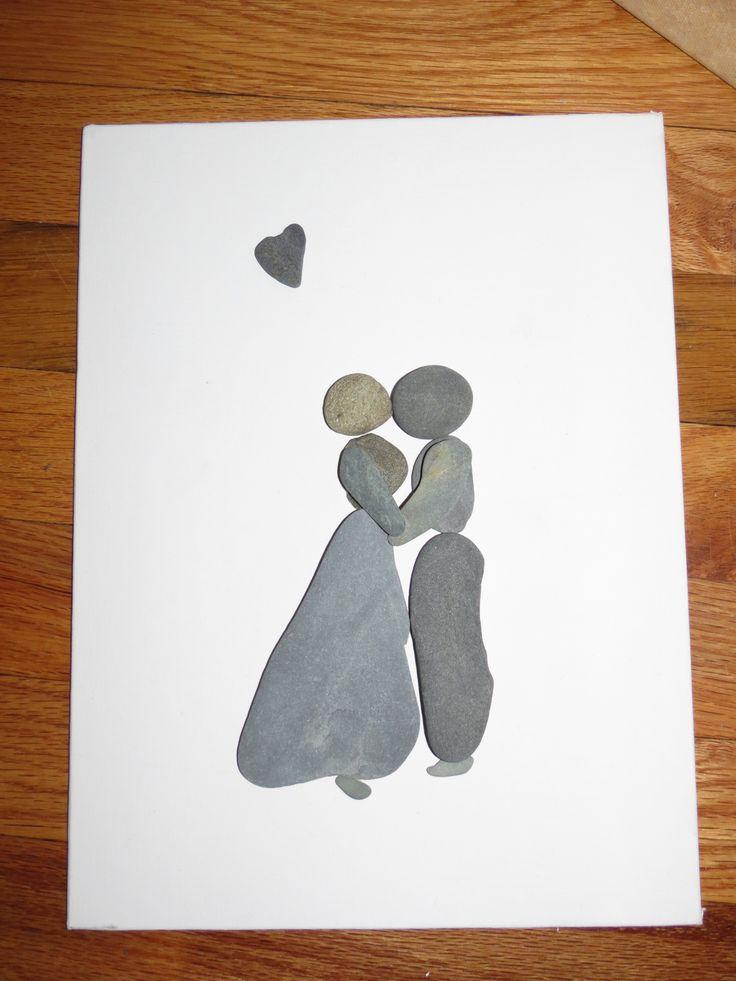 Pebble Art - True Love                                                                                                                                                     More