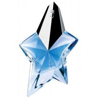 Thierry Mugler Angel Refillable EDP 50 ML - Bayan Parfümü  Thierry Mugler Angel Refillable EDP 50 ML Bayan Parfümü (Tekrar Doldurulabilir Şişe) Tatlı bir çocukluk ve kadınsı bir cazibenin parfümden bir şiir gibi ışıldadığı mavi billurdan ağır bir yıldız, büyüleyici ve nadir bir imge. Efsanevi melek. Işığın meleği, karşı konulmaz ve büyüleyici karanlıkların ışıltılı elçisi. Saf ve şehvetli, şefkatli ve üstünlüğünü kabul ettiren... Gök mavisi baş nota; temizlik ve saflık dünyası. Tatlı kalp…
