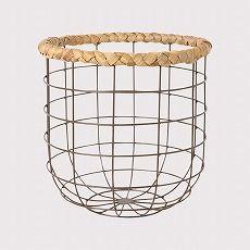 バスケット L モルク ブラック(ブラック) Francfranc(フランフラン)公式サイト|家具、インテリア雑貨、通販