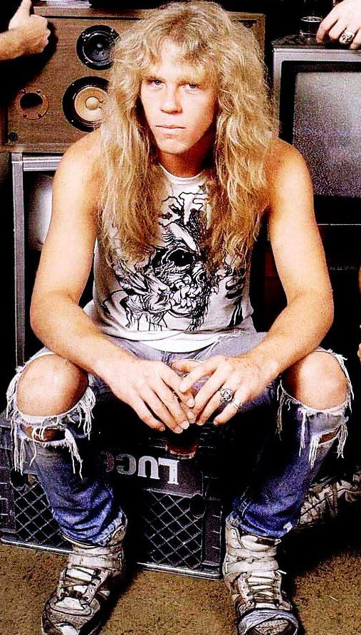 James Hetfield...when i started listening to Tallica, this was James