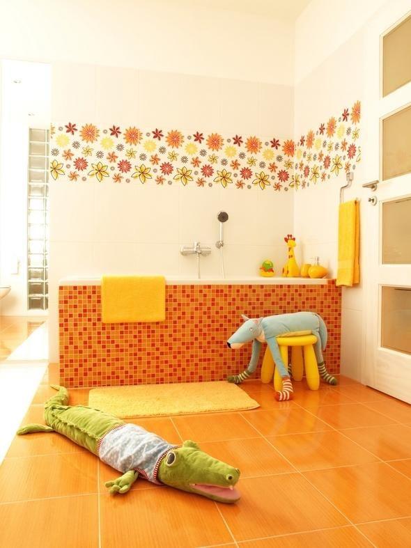 Adornar Baño Pequeno:Ideas para decorar el baño de tus hijos