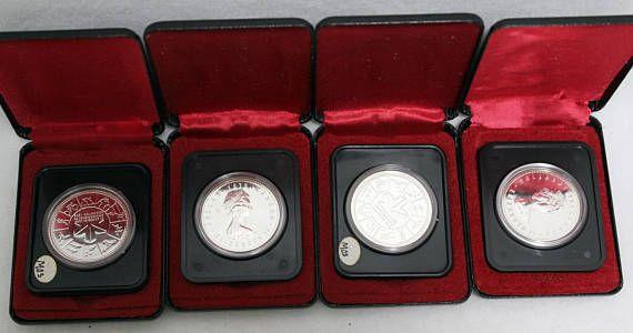 Canada 1978 Silver Commemorative Dollar Coin Canadian 1 XI #Canadian #silver #dollar #coin #proof #games