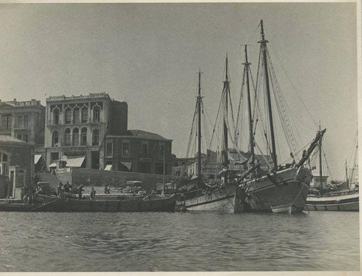 ΑΠΟ ΤΟ Ηράκλειο Παλιές Φωτογραφίες ΛΙΜΑΝΙ ΗΡΑΚΛΕΙΟΥ 1937 απο (Alexis Ugolini)