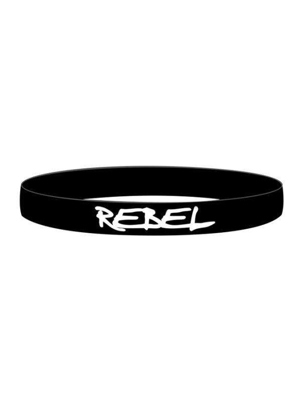 Rebel Circus Rebel Silicone Bracelet