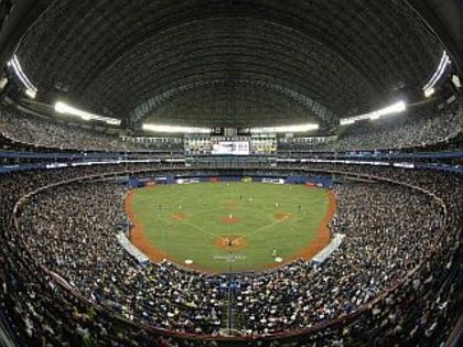Rogers Centre home of the Toronto Blue Jays