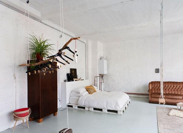 bedroom swing!