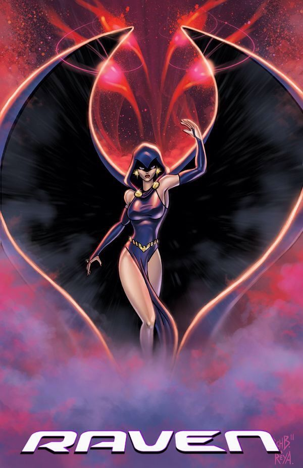 Raven of the Teen Titans - DC Comics - Visit to grab an amazing super hero shirt now on sale!