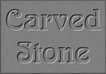 Pixelating Graphics & Design© Carved Stone Tutorial