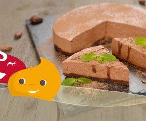 #Ricetta #facile #cheesecake al #cioccolato #eridania