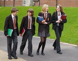 wearing school uniforms essay