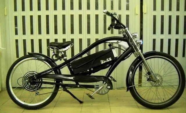 Custom ebike converted. 1kw bldc - 60v 12ah pb - regenerative braking