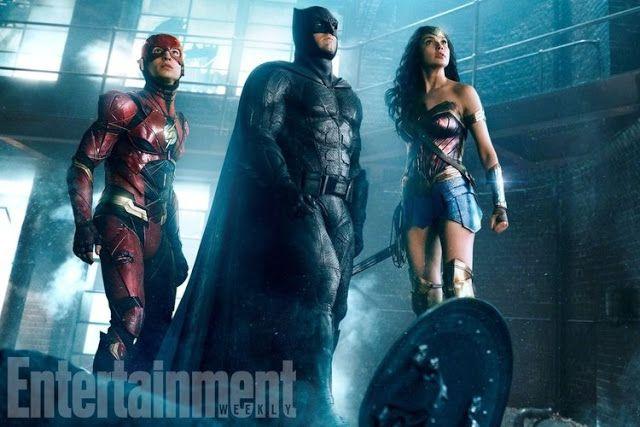 Galaxy Fantasy: Nueva foto de 'La liga de la Justicia' con Flash, Batman y Wonder Woman