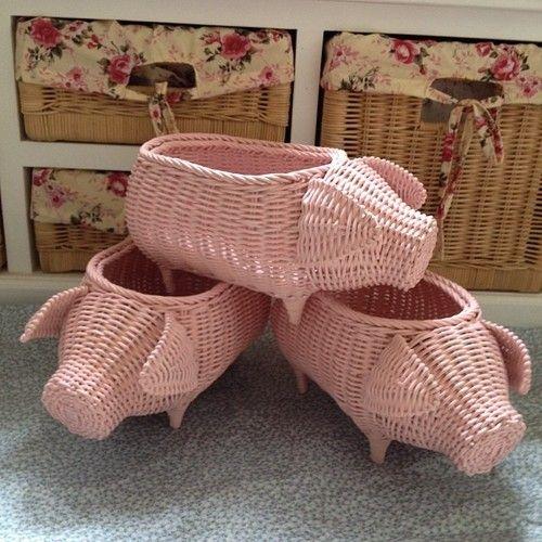 Piggy rattan - @rattanmedots