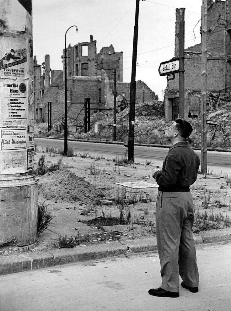 ☺1945-Berlin-JJM1 | My father, John McCarthy, an Army officer, in Berlin 1945.