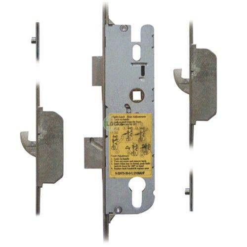 GU 2 Hook, 2 Roller & Nightlatch Facility UPVC Door Lock