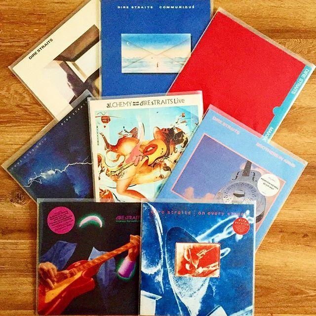 Dire StraitsVinyl Collection 1978/1991 Vertigo 1st UK  #direstraits#communique#makingmovies#loveovergold#alchemy#live#brothersinarms#moneyfornothing#oneverystreet#vinylcollectionpost#vinyl#collection#nowlistening#recordcollector#album#vinyleveryday#markknopfler#vinylonly#discography#vinyljunkie