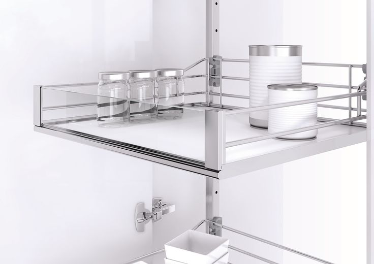 Vauth-Sagel's VSA Pull Out Tower Pantry Unit with Premea Artline finish