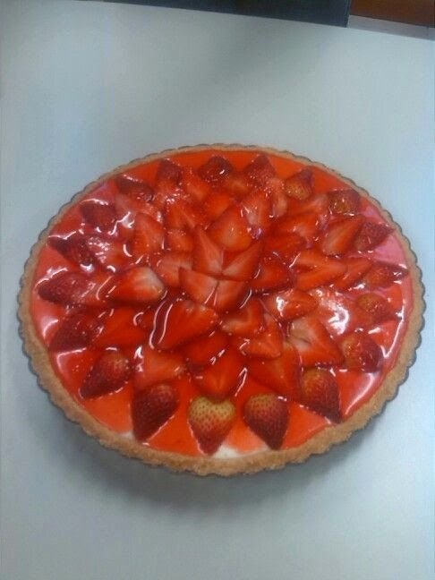 hacialoesencial: Comparte tarta de fresa