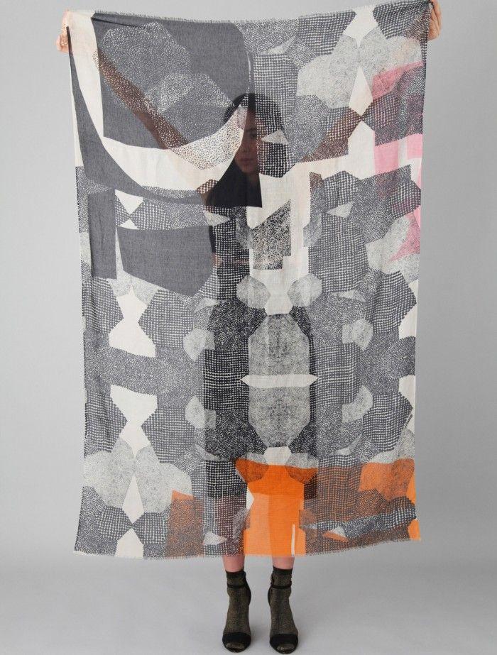 Woking Girl Designs - Egyptian Inspired Scarves   Patternbank