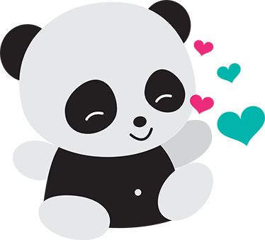 cute baby panda bear drawings