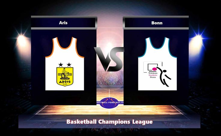 Aris-Bonn Oct 31 2017 Basketball Champions League Can Aris on the home ground beat the team Bonn. Aris-Bonn Oct 31 2017. In the past 3 matches at home Aris has won 3 victories while In the last 4 matches on someone else's site Bonn scored 2 checkmates.   #_Jr. #Aris #Aris_BC #basketball #Basketball_Champions_League #bet #Bonn #forecast #Gary_Bell #Giannis_Athineou #Josh_Mayo #Julian_Gamble #Keith_Benson #Kwame_Vaughn #Kyle_Weaver #Martin_Breunig #Michail_Tsairelis #Nemanj