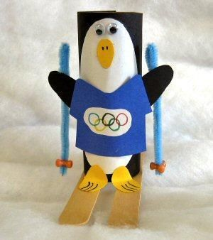Pennenbak knutselen - Hobby Olympische Spelen