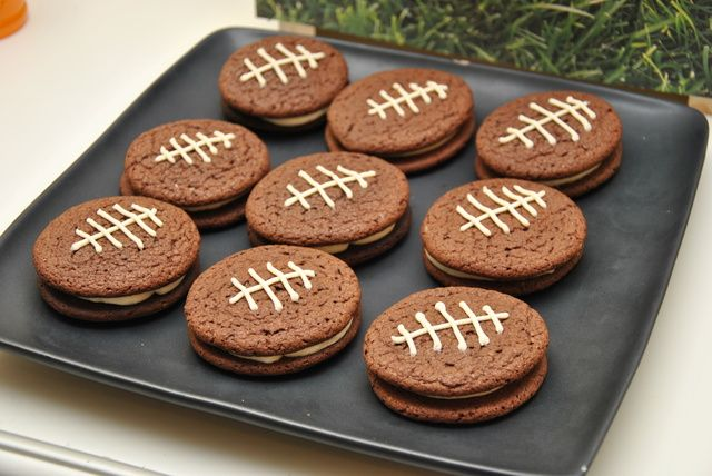 Cookies from a Football Party #football #partycookies