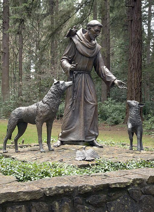 St Francis of Assisi and the wolves