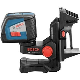 Bosch GLL 2-50 BM CC Line Laser Kit - with wall bracket, ceiling clamp and batteries