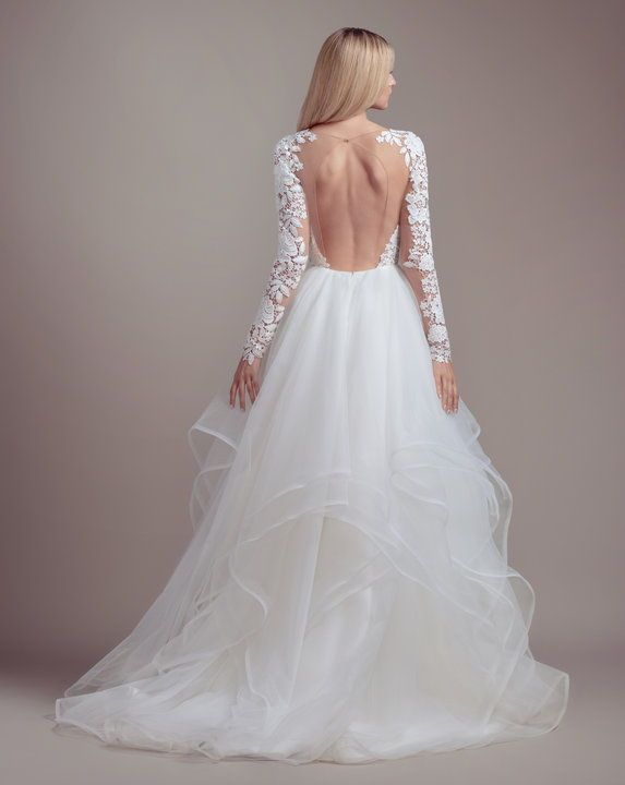 Praise By Blush By Hayley Paige Spring 2019 Collection Blush By Hayley Long Sleeve Ball Gown Wedding Dress Long Sleeve Ball Gowns Wedding Dresses Kleinfeld
