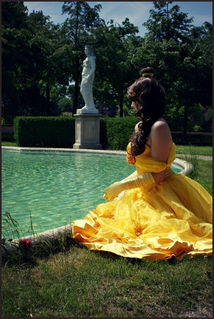 Disney- Belle - The Beauty and the Beast - Cosplay by ~Chepiru
