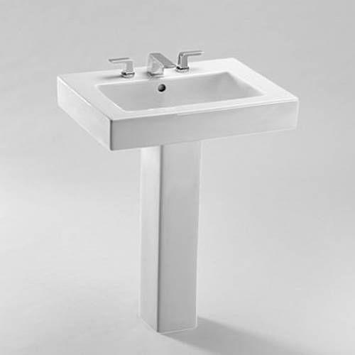 TOTO LPT315G Single Hole Pedestal Bathroom Sink Sink SanaGloss
