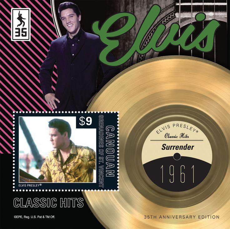 Elvis Presley Stamps | ... elvis presley item elvis presley classic hits surrender s s iii $ 9