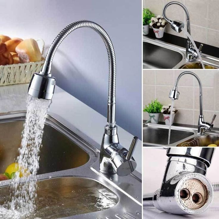cheap and cheerful  Modern Kitchen Sink Mixer Basin Spray Tap Chrome 360° Swivel Mixer Faucet Tap UK in Home, Furniture & DIY, Kitchen Plumbing & Fittings, Kitchen Taps | eBay