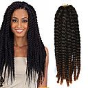 crochet trança havana mambo extensão do cabelo torção afro 12-24 polegadas preto ao castanho avermelhado claro com agulha de crochê