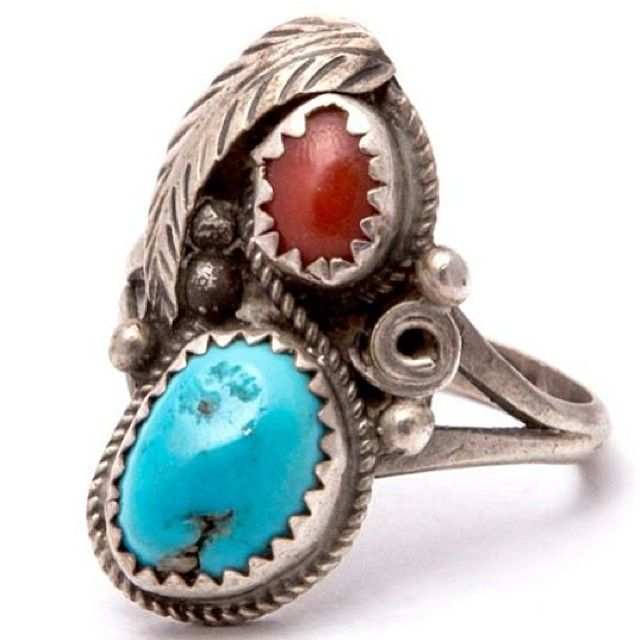 One Only! Vintage Navajo Sterling Silver Ring, Free World Delivery! At www.iheardtheyeatcigarettes.com xxx #Navajo #jewellery #jewelry #ring #rings #boho #hippie #hippy #gypsy