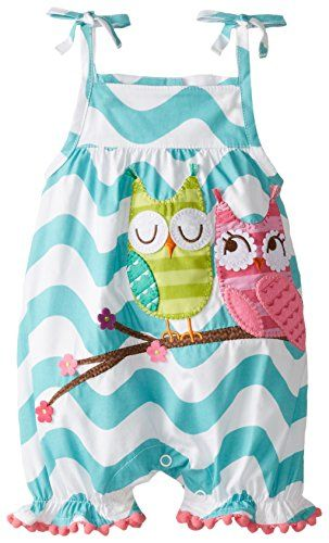 Mud Pie Baby-Girls Newborn Owl Bubble Romper, Blue, 6-9 Months Mud Pie http://www.amazon.com/dp/B00R7GLL6M/ref=cm_sw_r_pi_dp_nRkvvb142HAJD