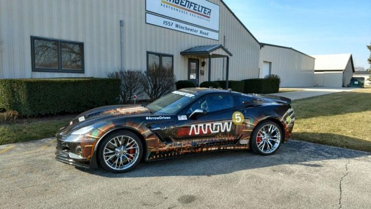 Lingenfelter Performance Engineering is partnering with Arrow's Semi-Autonomous Motorcar (SAM) project to upgrade the Corvette Z06's performance boundaries.